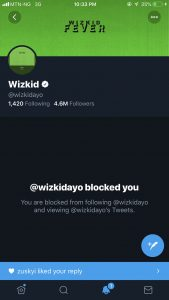 Lady Reveals How Wizkid Unblocked Because Of Ramadan And